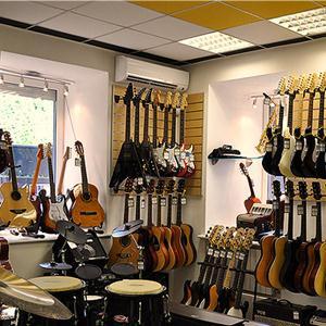 Музыкальные магазины Иланского