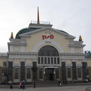 Железнодорожные вокзалы Иланского
